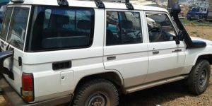 Congo Safari Jeep