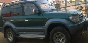 Rwanda Safari jeep