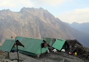 Elana Hut on Mountain Rwenzori