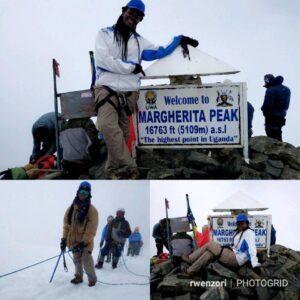 Rwenzori mountaineering guide